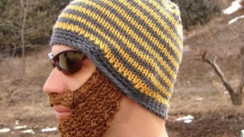 шапки с теплой бородой уберегут от мороза